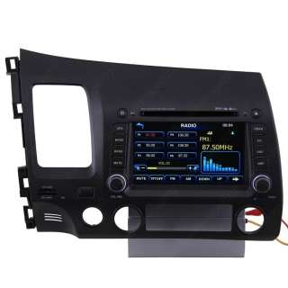 06 11 Honda Civic Car GPS Navigation Radio TV Bluetooth USB  IPOD
