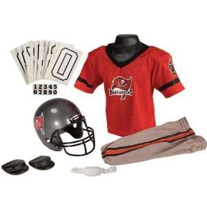 Tampa Bay Buccaneers Deluxe Youth Uniform Set   Small