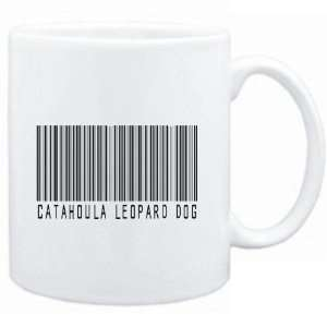 Mug White  Catahoula Leopard Dog BARCODE  Dogs