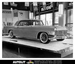 1956 Lincoln Continental Mark II Factory Photo