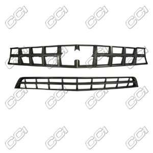 To Coast IWCGI86BC High Impact Black Chrome Plated ABS Grille Overlay