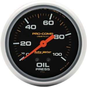 Auto Meter 5421 Liquid filled Oil Pressure Gauge