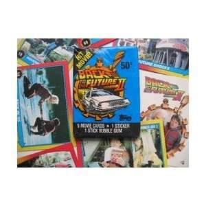 Back to the Future II Collectible Trading Card Packs (9 Movie Cards, 1