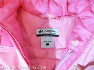 COLUMBIA Girls Winter Coat Snow Jacket TODDLERS 2T 3T 4T (Insulated