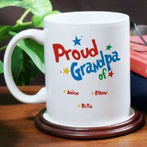 Proud Dad Personalized Coffee Mug