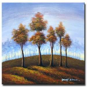Lonely Forest Hand Painted Canvas Art Oil Painting
