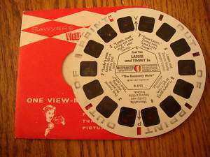 LASSIE AND TIMMY VIEW MASTER REEL NO. 2