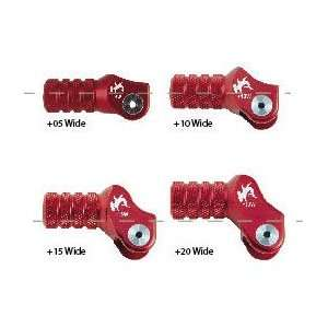 Hammerhead Billet Shift Levers Tip +5Mm Red Automotive