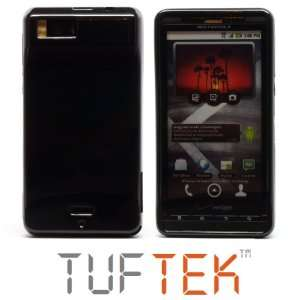 TUF TEK Glossy Piano Black TPU Candy Skin Cover Case for