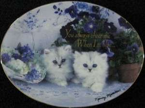 True Blue Friends by Nancy Matthews Franklin Mint Heirloom Collector
