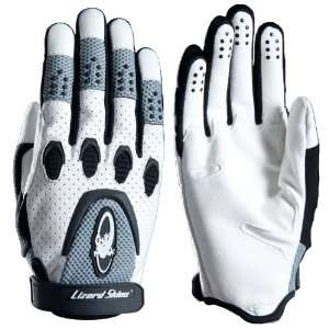 Komodo full finger glove, white   M (9)