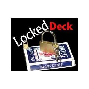 Locked Deck Bicycle Cards Magic Trick Vanishing Appear