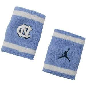 Nike North Carolina Tar Heels (UNC) Elite NCAA Team Logo Wristbands