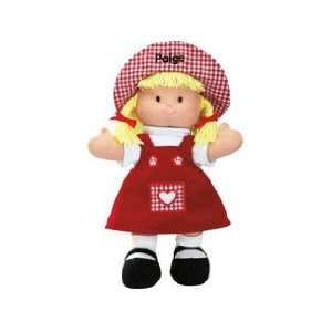 Personalized Valentine Doll Toys & Games