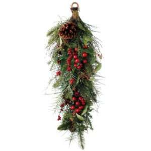 Pine Cones Artificial Christmas Swags 29