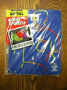 VTG Fruit Of The Loom Pocket T Shirt XXXL Big/Tall NOS