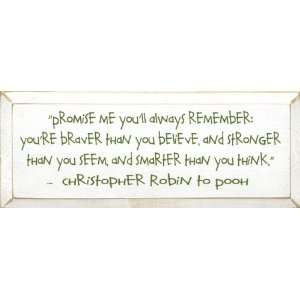 Promise Me You Will Always Remember   Christopher Robin