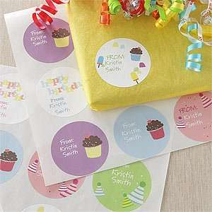 Personalized Birthday Gift Stickers   Birthday Fun Health