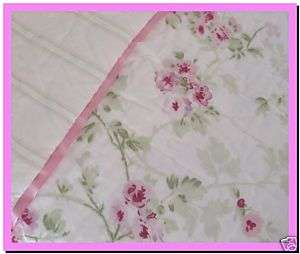 Rachel Ashwell QUILT Chic Cherry Blossom Shabby F/Queen