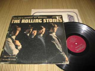 Rolling Stones Record LP Englands Newest Hit Makers London ffrr rock