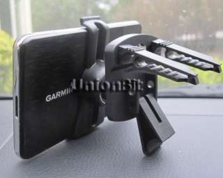 Car Vent Mount+Holder for Garmin Nuvi GPS 3750/3760t/3760lmt/3790t