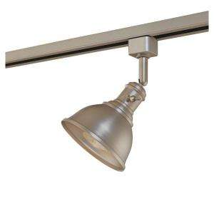 Hampton Bay Linear Track Head Brushed Steel Metal Shade EC4156BA at