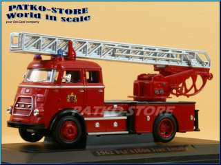 1962   red   Fire Engine   YAT MING Signature Series 143