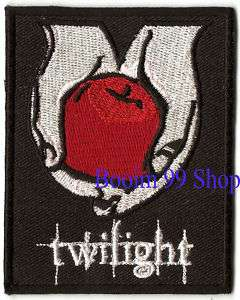 twilight Logo EMBROIDERED Iron Patch T Shirt Sew Cloth