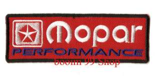 MOPAR Logo EMBROIDERED Iron Patch T Shirt Sew Cloth