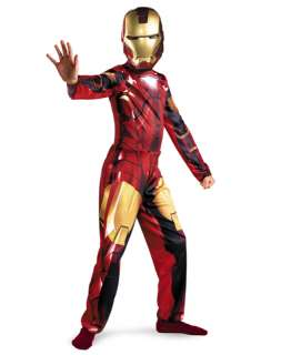 Iron Man 2 Movie Iron Man Mark IV Child Costume