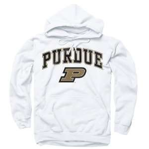 Purdue Boilermakers White Perennial II Hooded Sweatshirt