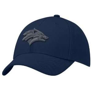 Nike Nevada Wolf Pack Navy Blue Swoosh Flex Hat Sports