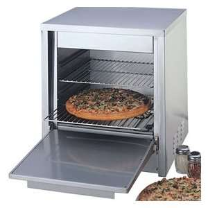 Nemco Counter Top Electric Pizza Oven   Two 15.125 x 14.25 Racks
