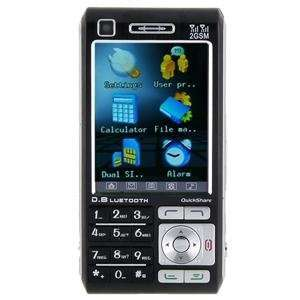 T8000i Quad band FM Touch Screen Dual Sim Standby Cell