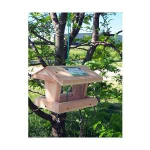 Mini Hopper Bird Feeder   hold both Sunflower and Seed Mixes, 5 Cups