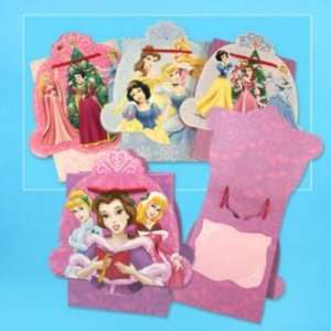 Gift Bag X Christmas Princess Bell Bows Case Pack 50