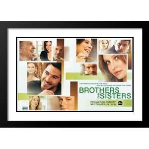 Brothers & Sisters (TV) 32x45 Framed and Double Matted TV Poster   B