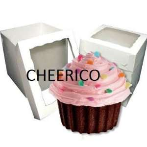25 Units of Giant Jumbo Big Cupcake Window Boxes