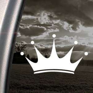 Crown Decal Car Truck Bumper Window Vinyl Sticker Automotive