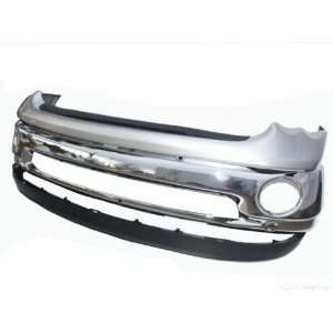 02 06 Dodge Ram Chrome Front Bumper, Top Pad, Molding