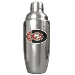 Francisco 49ers NFL Stainless Steel Cocktail Shaker