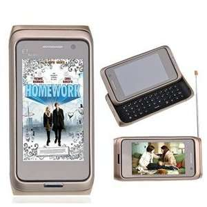 E7 Mini Dual SIM Dual Standby Quad band TV Slide Cell Phone