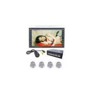 definition 6.5 inch TFT LCD with double din car DVD player Automotive