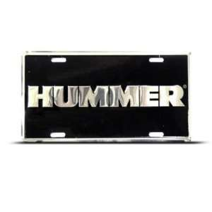 Hummer H2 H3 Metal Novelty Car Auto License Plate Wall