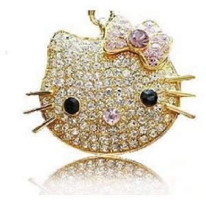 Lovely crystal hello kitty flash drive USB 2.0 4GB Electronics