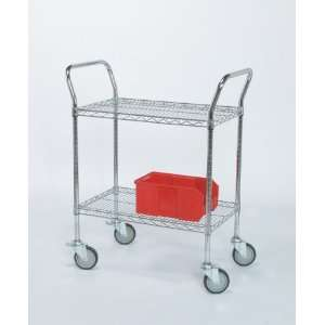 Medline Heavy Duty Utility Carts   3 Shelf Units   18W x 36L x 38H