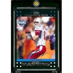 Peyton Manning PB   Indianapolis Colts   ALL PRO   NFL Trading Cards