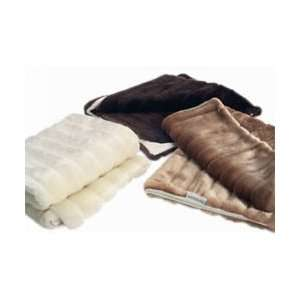 BIGGER BLANKET Ultra Soft Faux Fur 110 cm x 140 cm   HONEY Baby