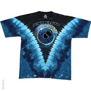 Pink Floyd Pulse V T Shirt (Tie Dye), 2XL  Sports