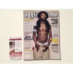 Signed Autographed Rolling Stone Magazine JSA Sports Collectibles